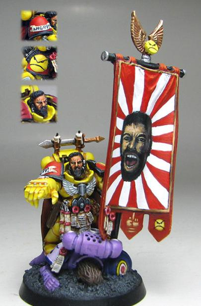 "Although, Leonidas of the Angry Marines maybe an exception to the ""No Pre-painted Purchases"" rule."